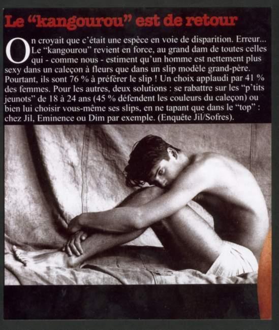 Editorial Mode Lingerie Mannequin:Alexandre FERRY,Ag.GLAMOUR Lieu:Loft,Paris 11ème arr. Image de Stock Utilisée par: D.A:Clive CROOK de VITAL MAGAZINE Photographe:Sabine FAURE